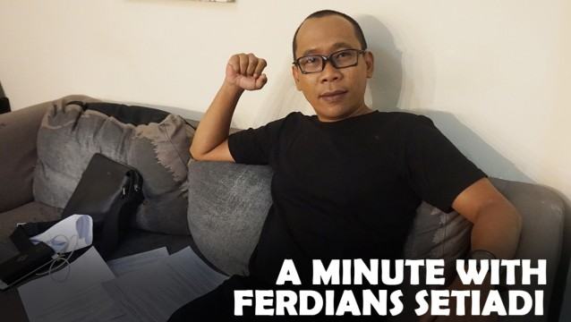 A Minute With: Ferdians Setiadi